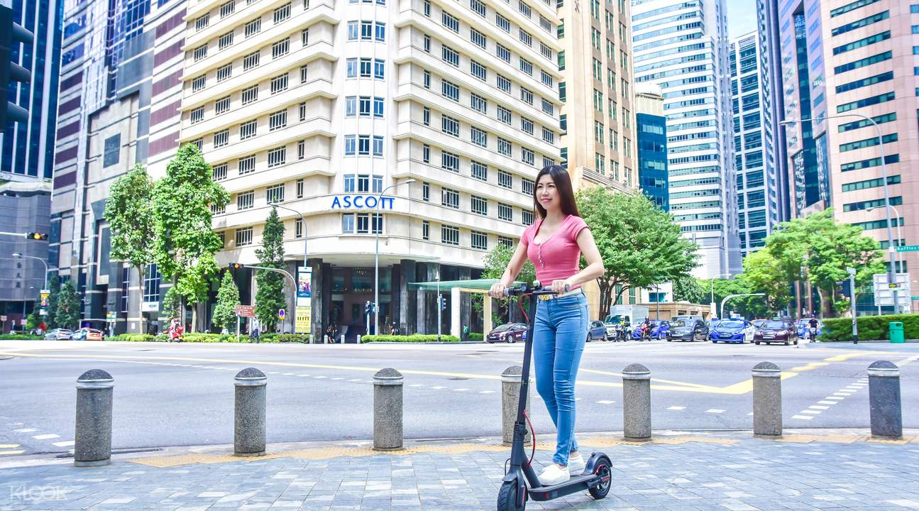 Segway miniPRO, e-Scooter & Bicycle Rentals at Marina Bay