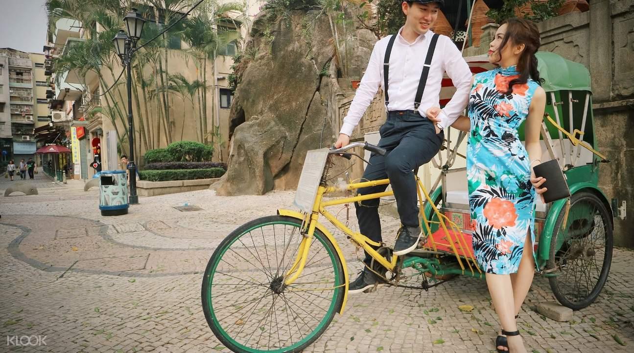 macau couple qipao experience