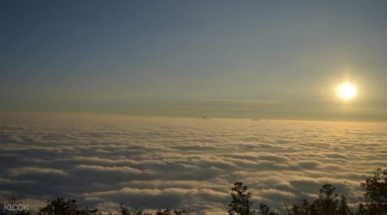 Skandagiri山顶全景