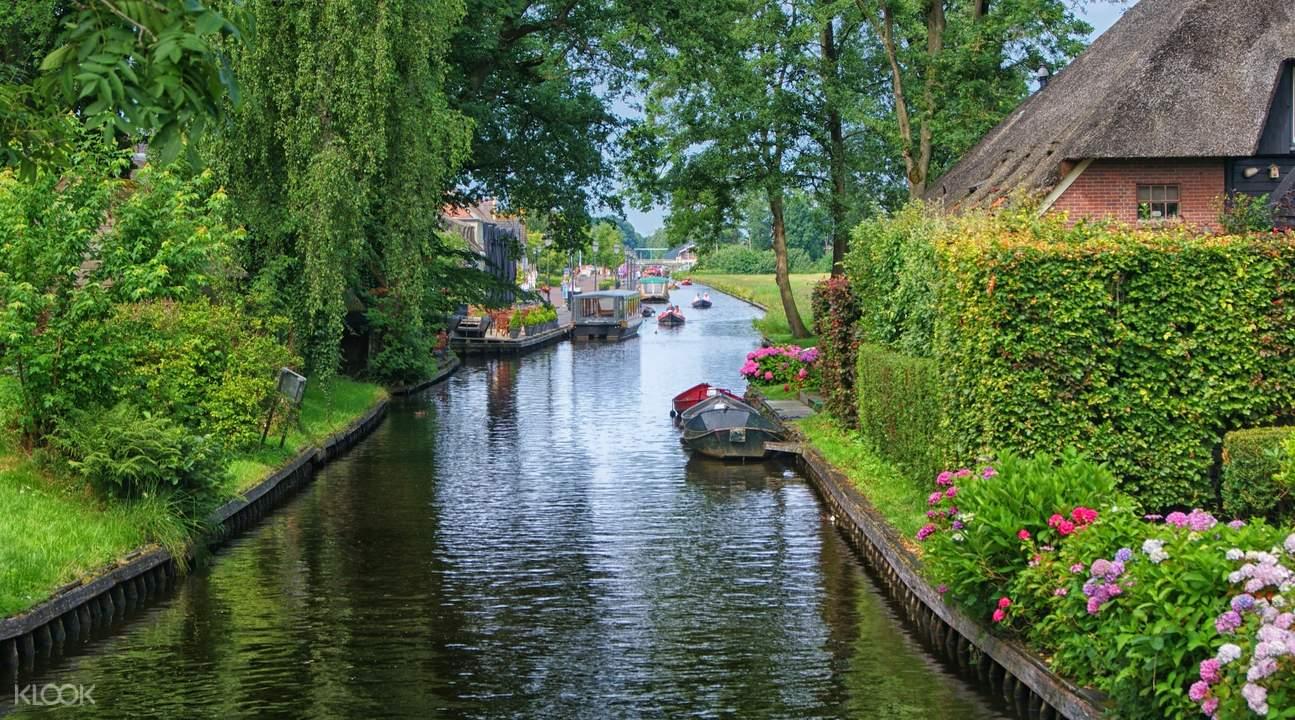 荷兰羊角村一日游船之旅