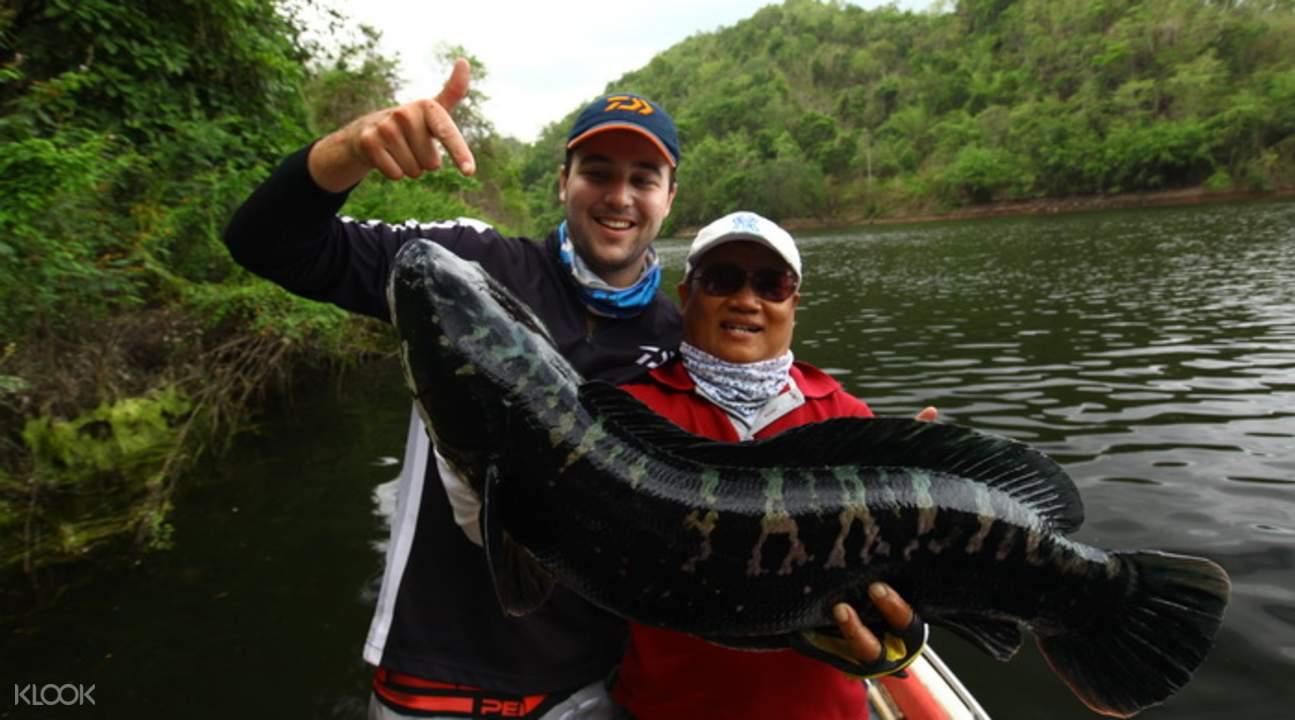 清邁大魚垂釣體驗