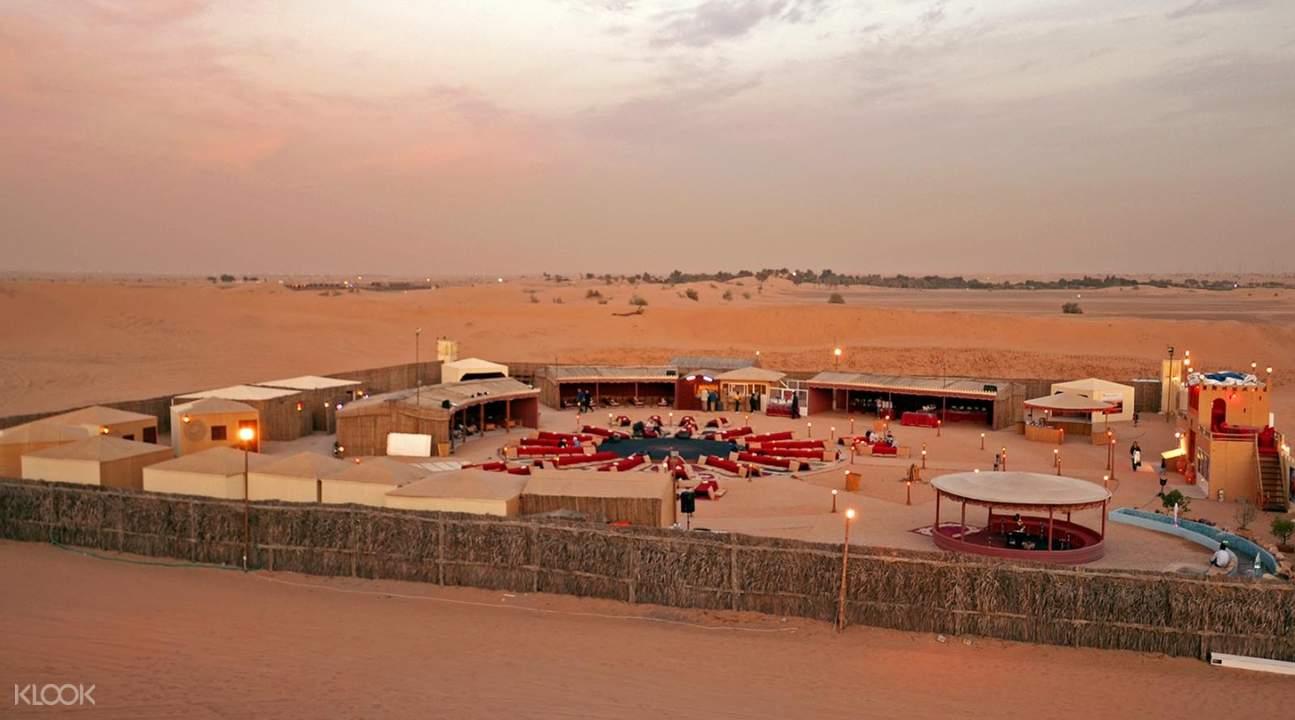 Premium Evening Red-Dunes Desert Safari from Dubai