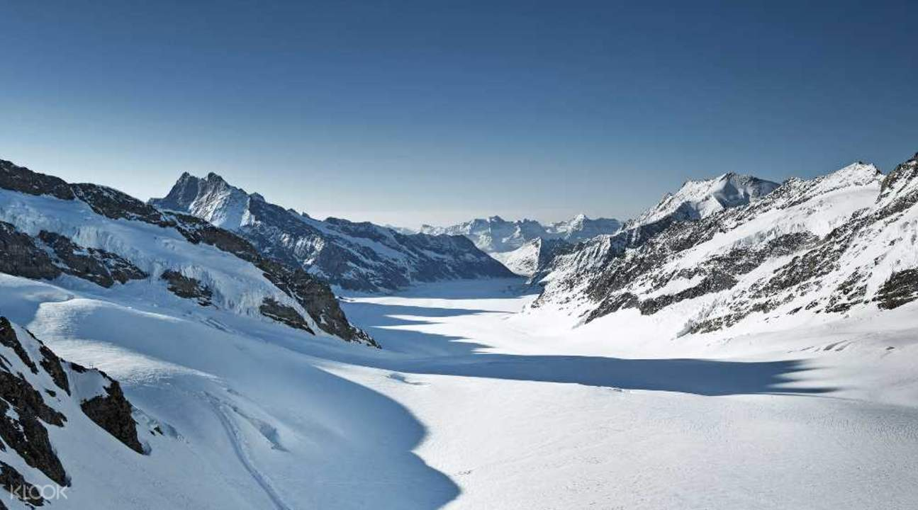 Jungfraujoch from zurich day tour