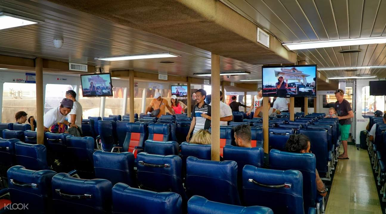 people inside a ferry
