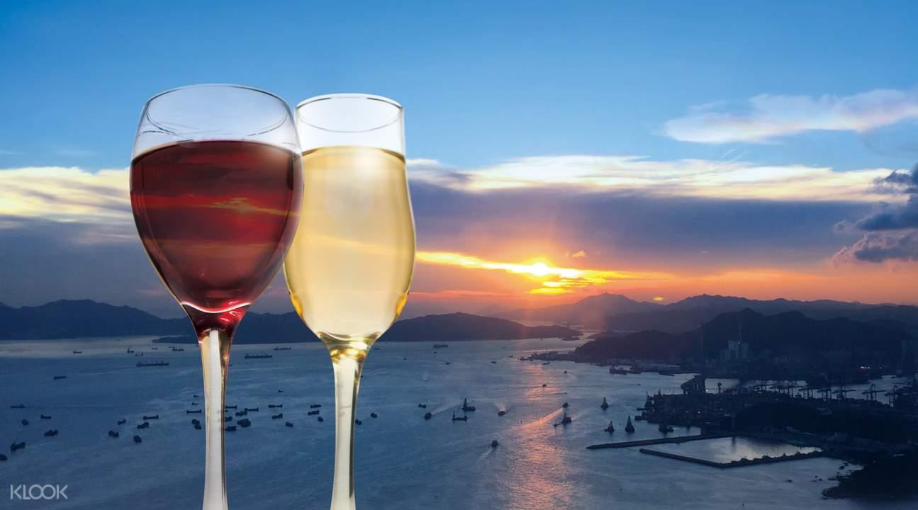 落日雙人美酒體驗