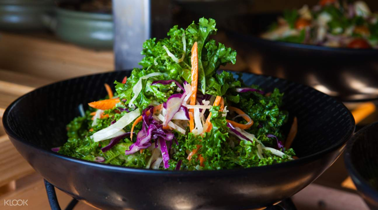 水印酒店海鮮自助餐廳蔬菜沙拉
