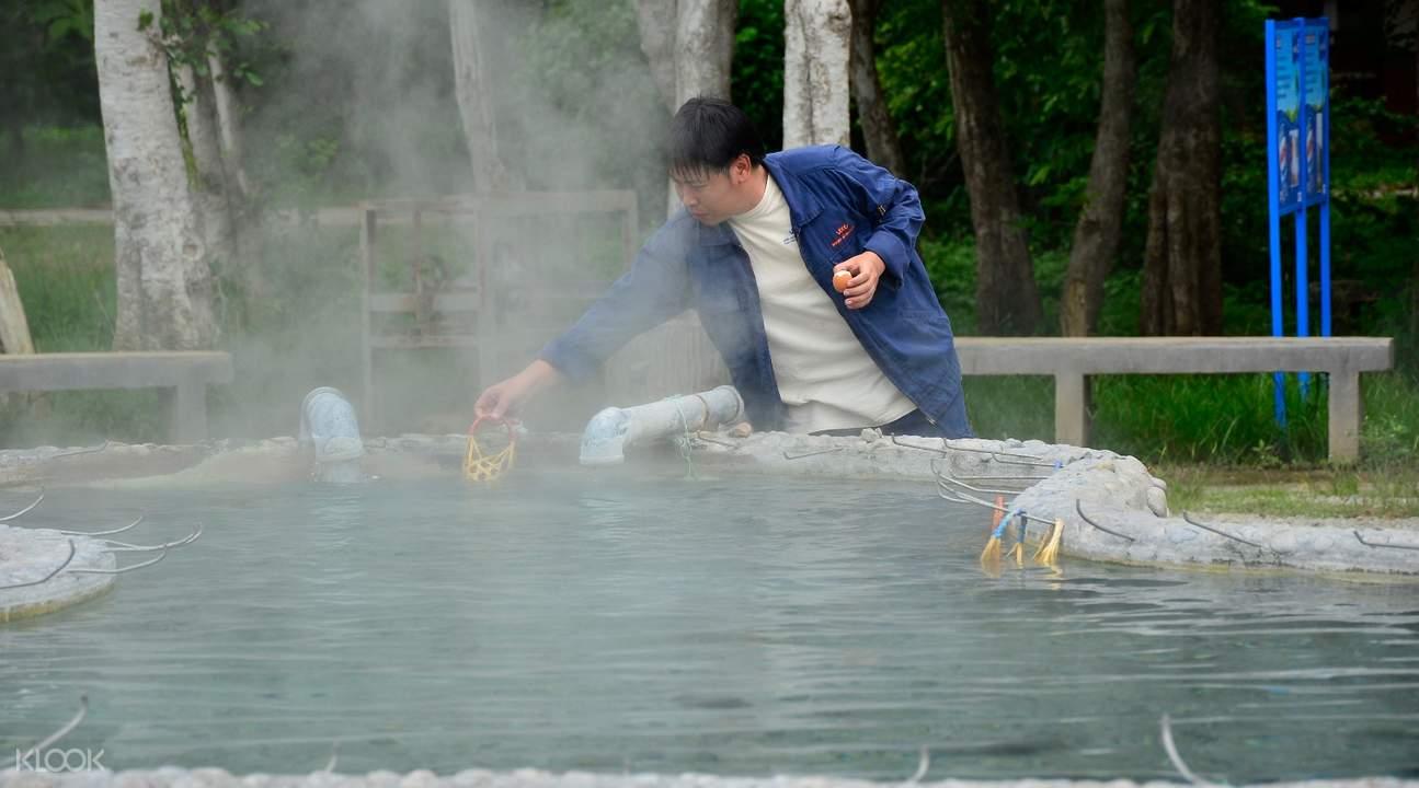 Sankampaeng温泉