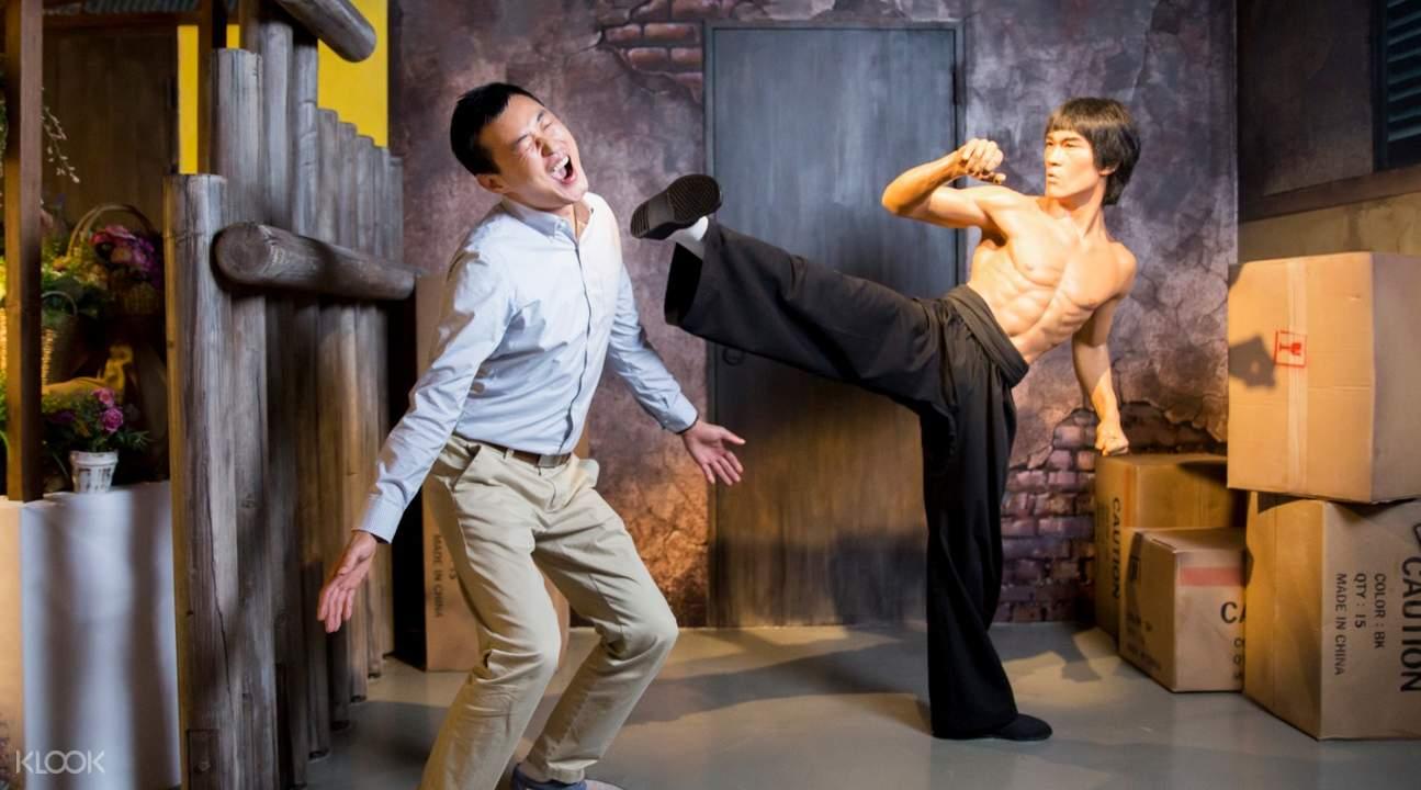 Bruce lee wax museum