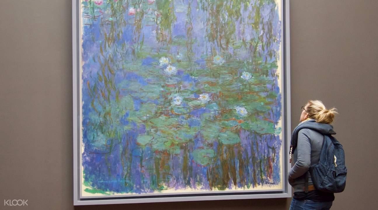 莫內作品,奧賽美術館莫內,巴黎市區景點推薦,巴黎自由行,奧賽美術館門票