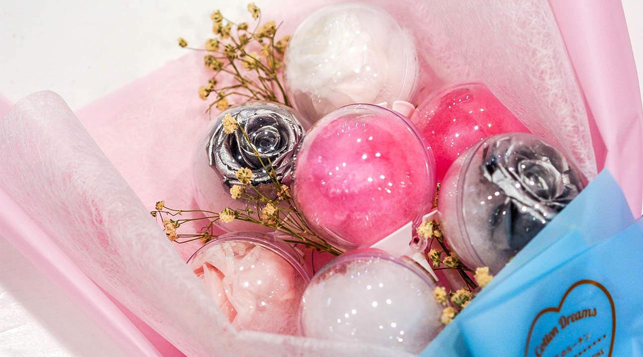 cotton candy bouquet cotton dreams somerset
