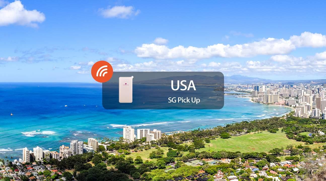 美國4g 隨身wifi 新加坡領取