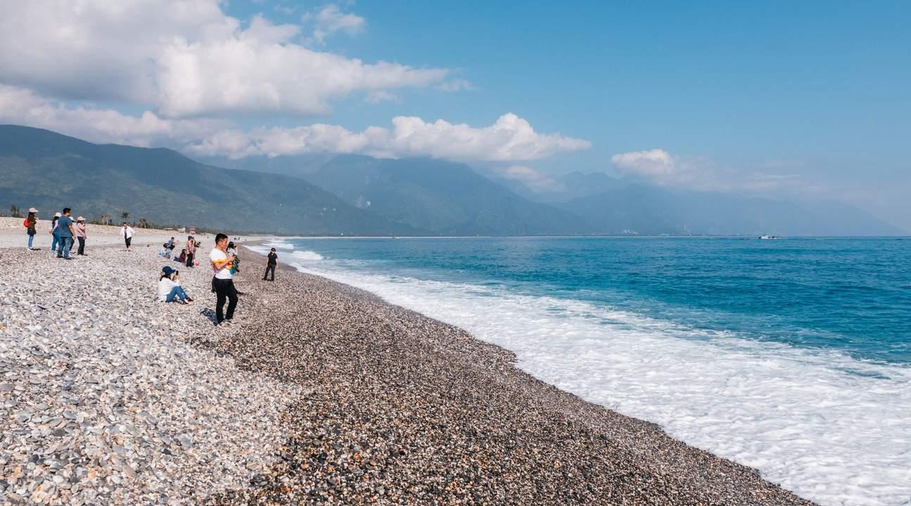 shore of Qixingtan beach