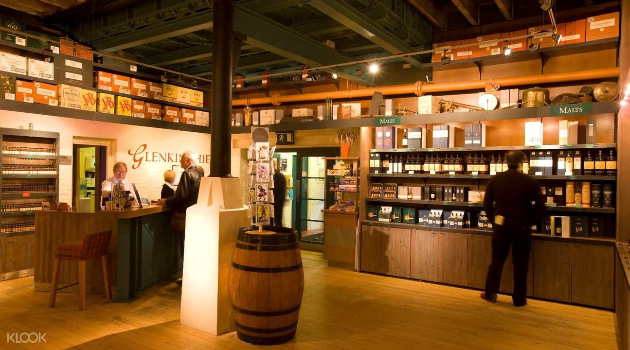 gift shop glenkinchie distillery
