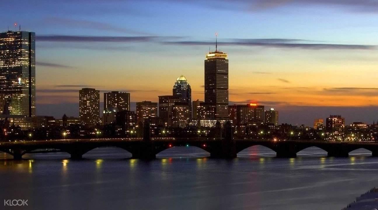 波士顿夜景