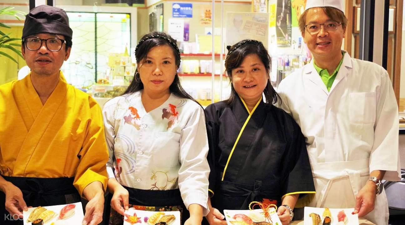 壽司製作體驗