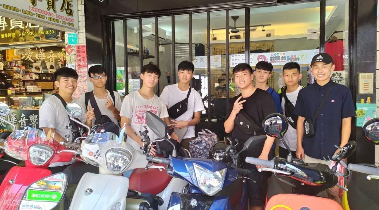 古巷速克達,台南摩托車租借,台南租機車