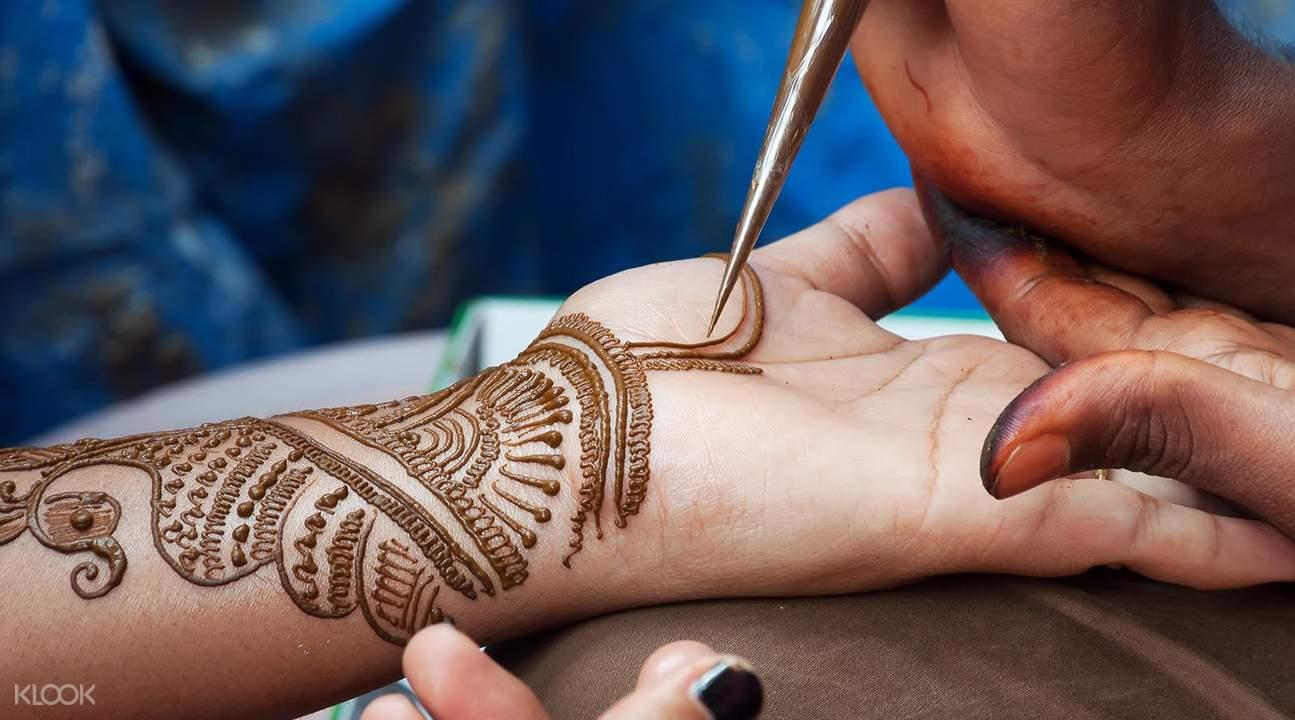 阿布扎比印度彩绘
