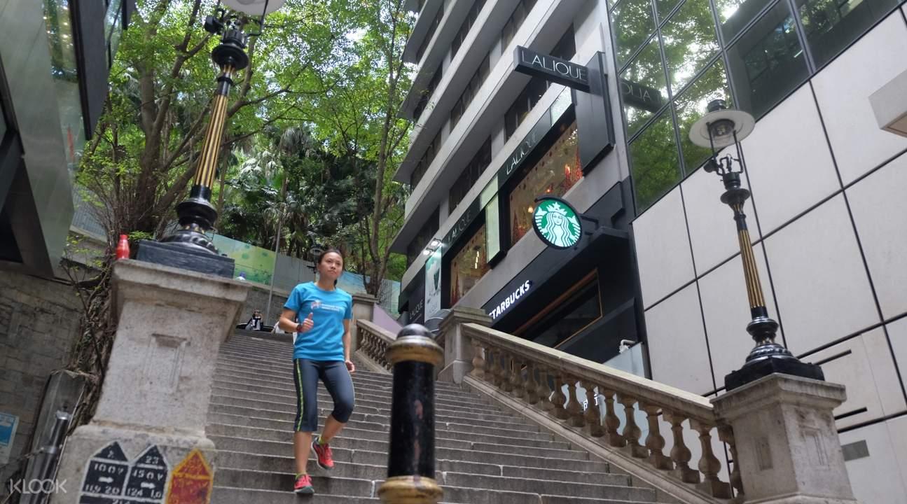 guided running tour hong kong