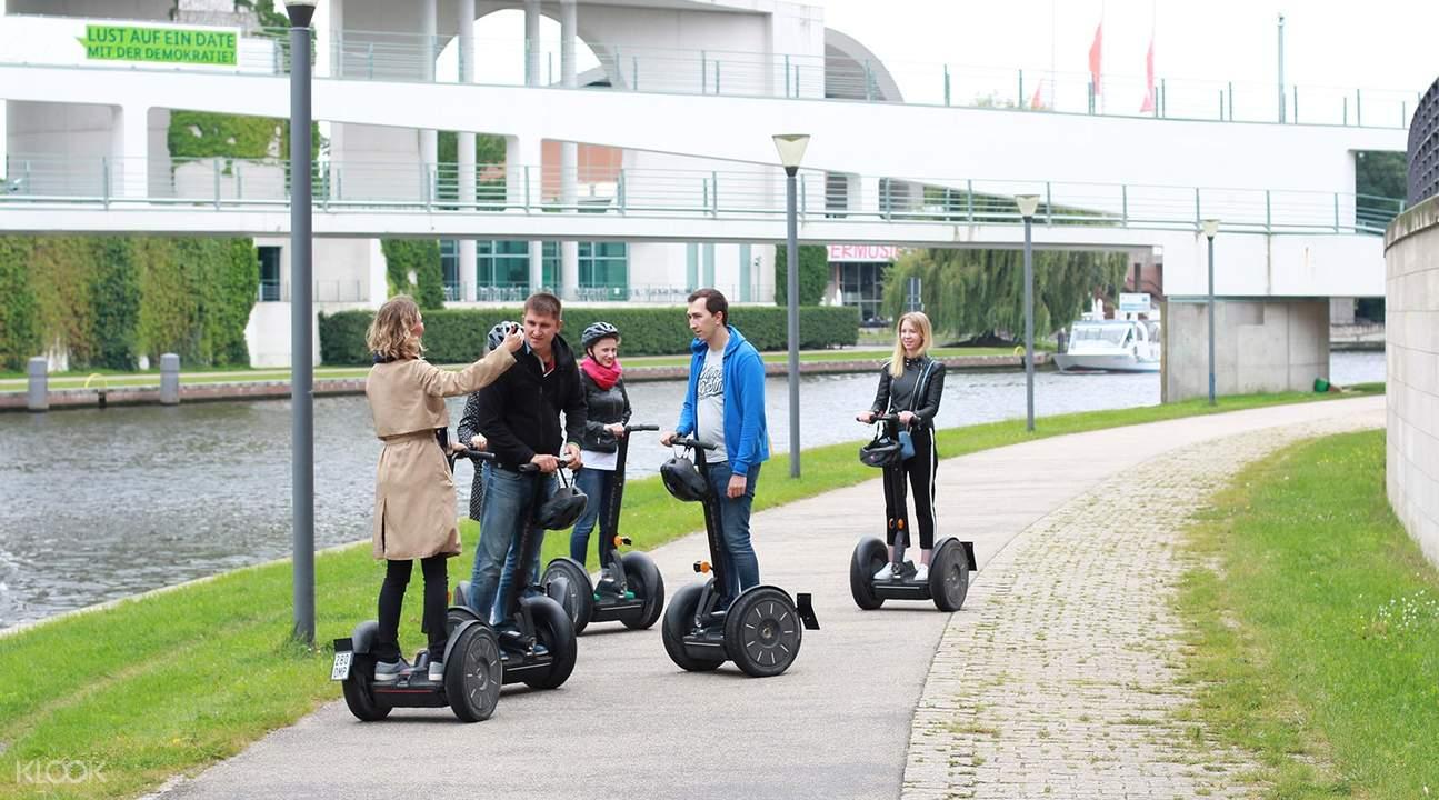 柏林電動平衡車 3小時城市觀光