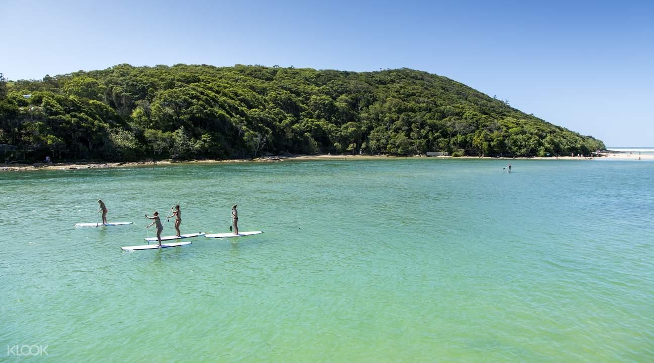 立式冲浪板体验