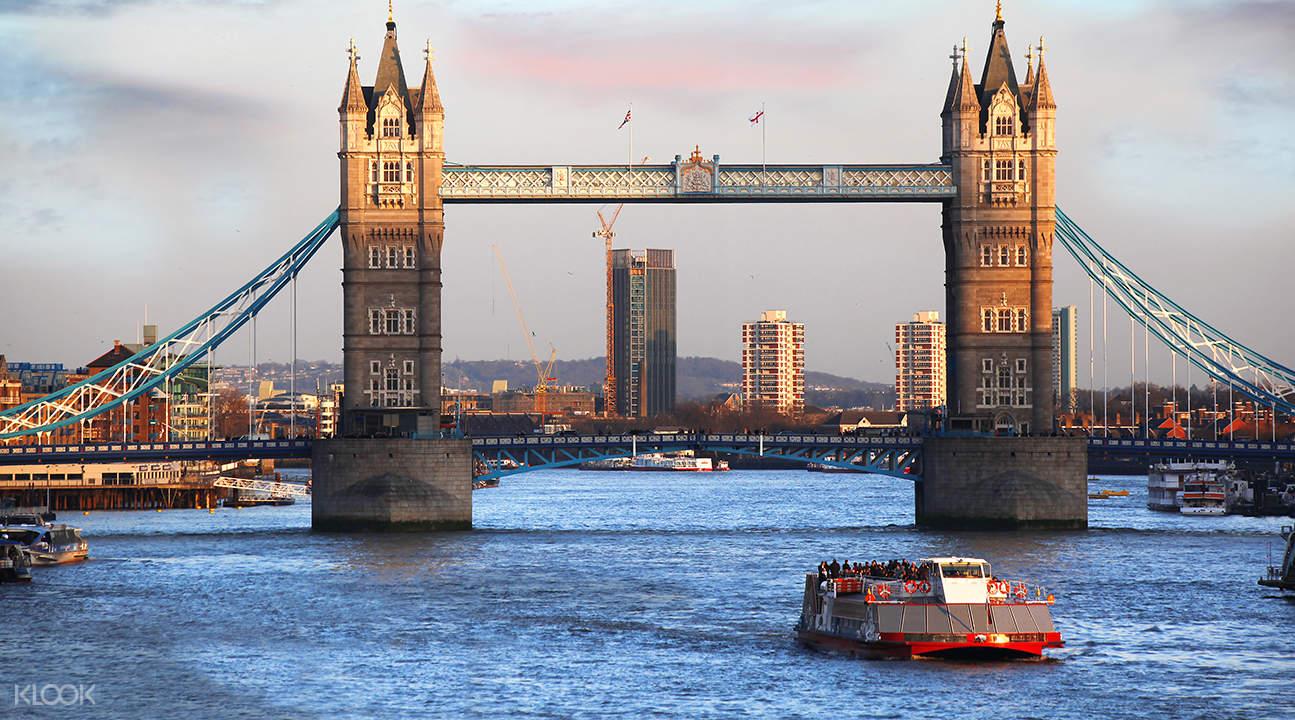 泰晤士河游船单程票