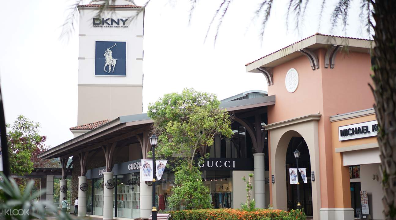 Shop to your heart's content at the Johor Premium Outlets!