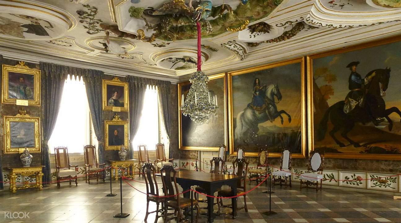斯庫克洛斯特城堡室內展品