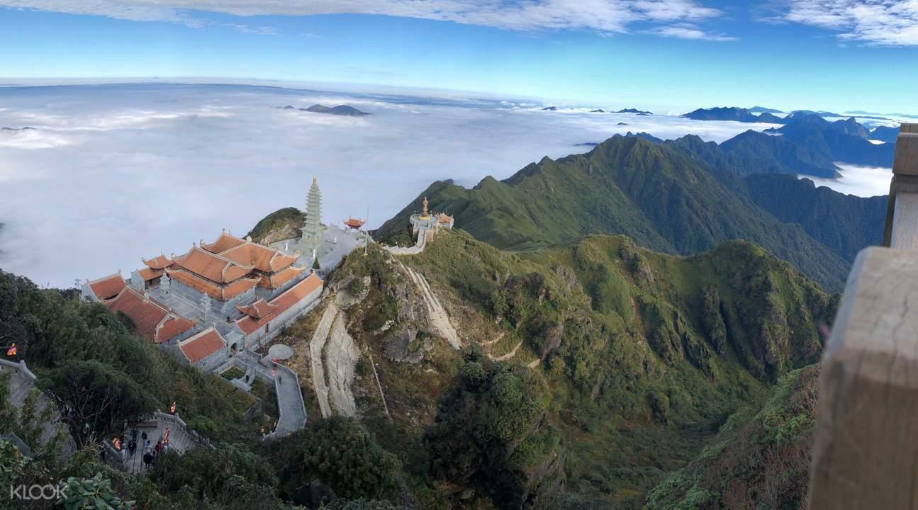Fansipan mountain temples
