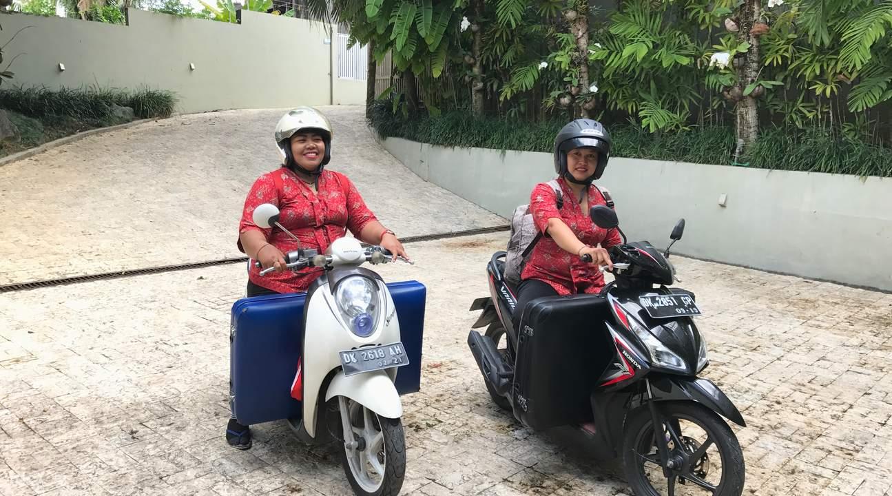 巴厘岛上门spa