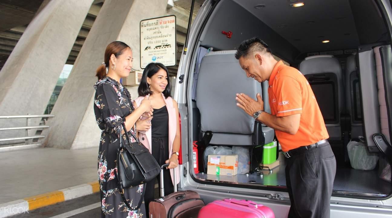蘇梅島機場與島上景點接送服務