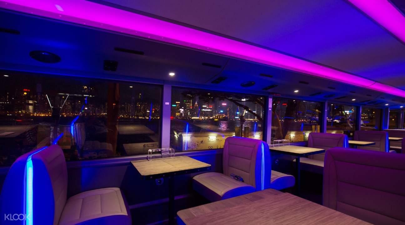 香港水晶巴士夜遊