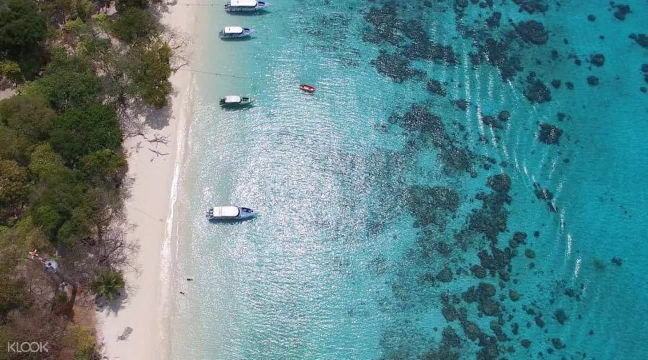 洛克岛Koh Rok & 珊瑚岛一日游