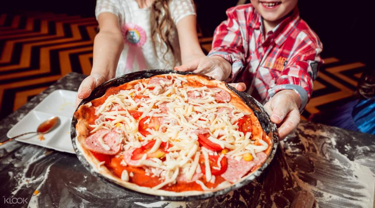 瑪格麗特披薩製作課程