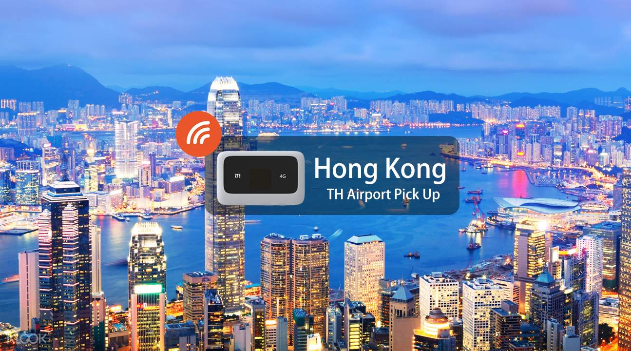 4G WiFi (TH Airport Pick Up) for Hong Kong