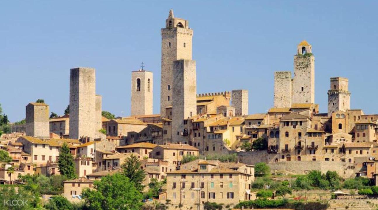佛羅倫薩周邊古城一日遊