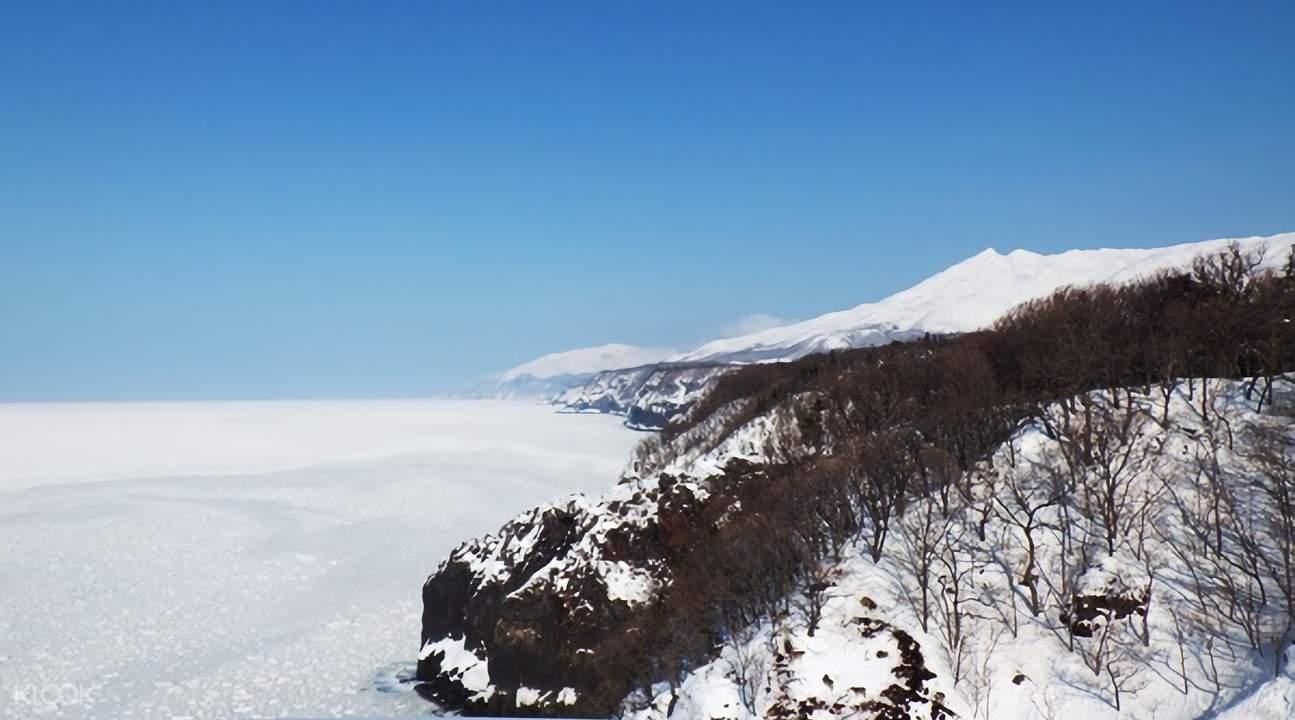 shiretoko snowshoeing hokkaido japan