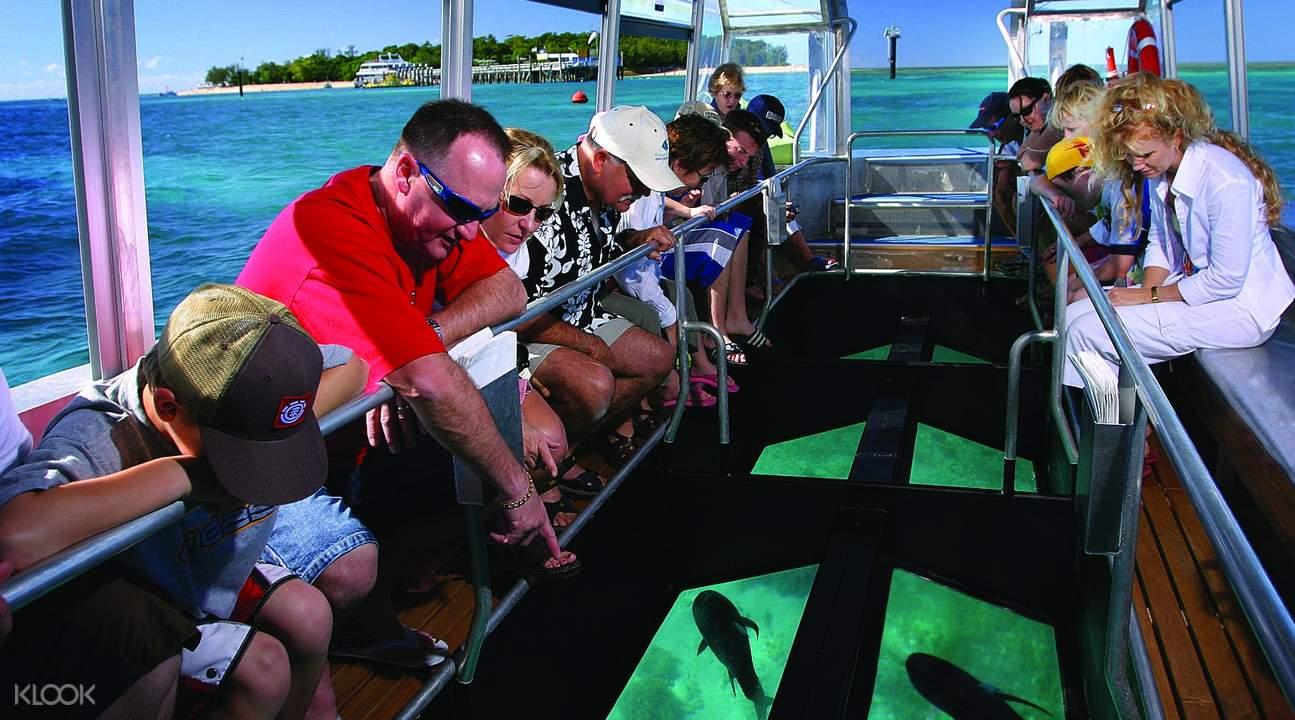 Glass Bottom Boat HR,凯恩斯大猫小猫号绿岛游船一日游,凯恩斯绿岛游船一日游,凯恩斯绿岛游船