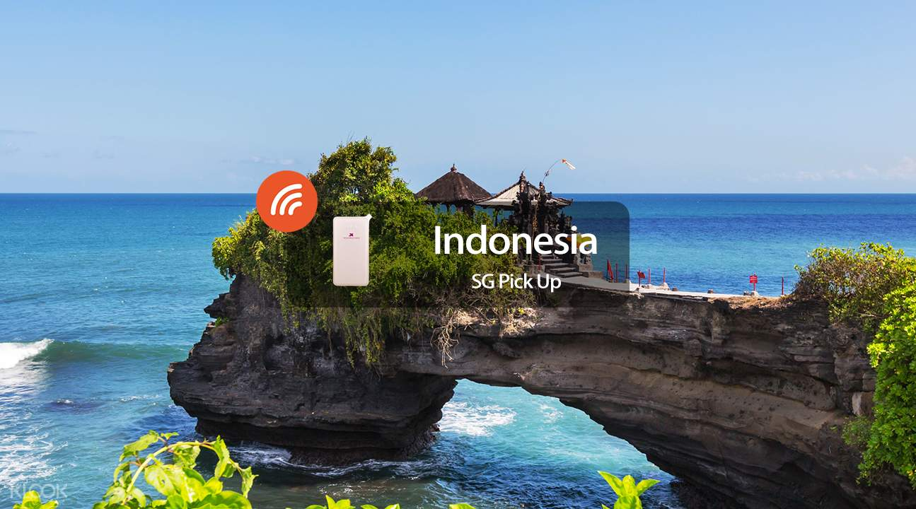 3.5G WiFi (SIN Pick Up) for Indonesia