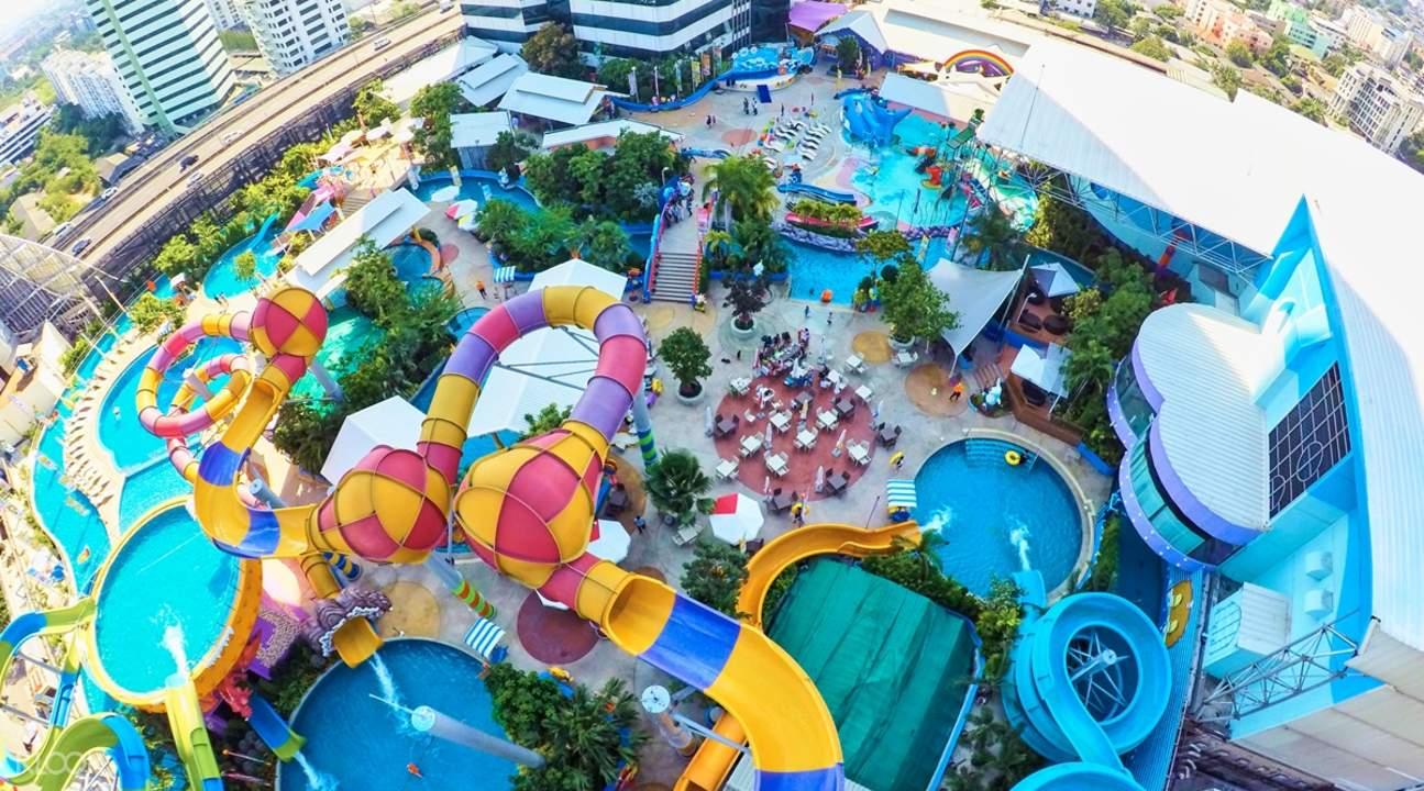 曼谷Pororo水上樂園鳥瞰圖