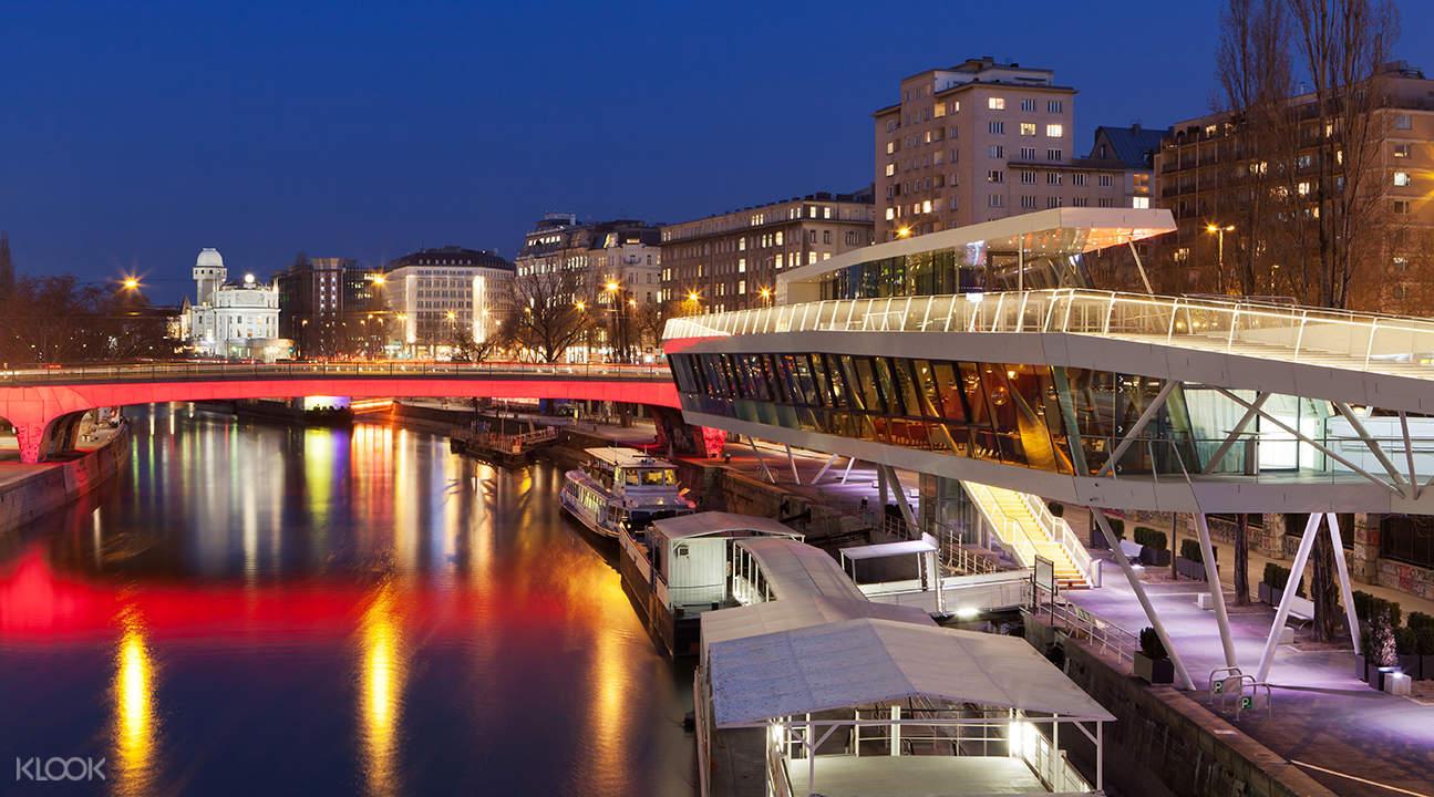 vienna evening boat cruise danube
