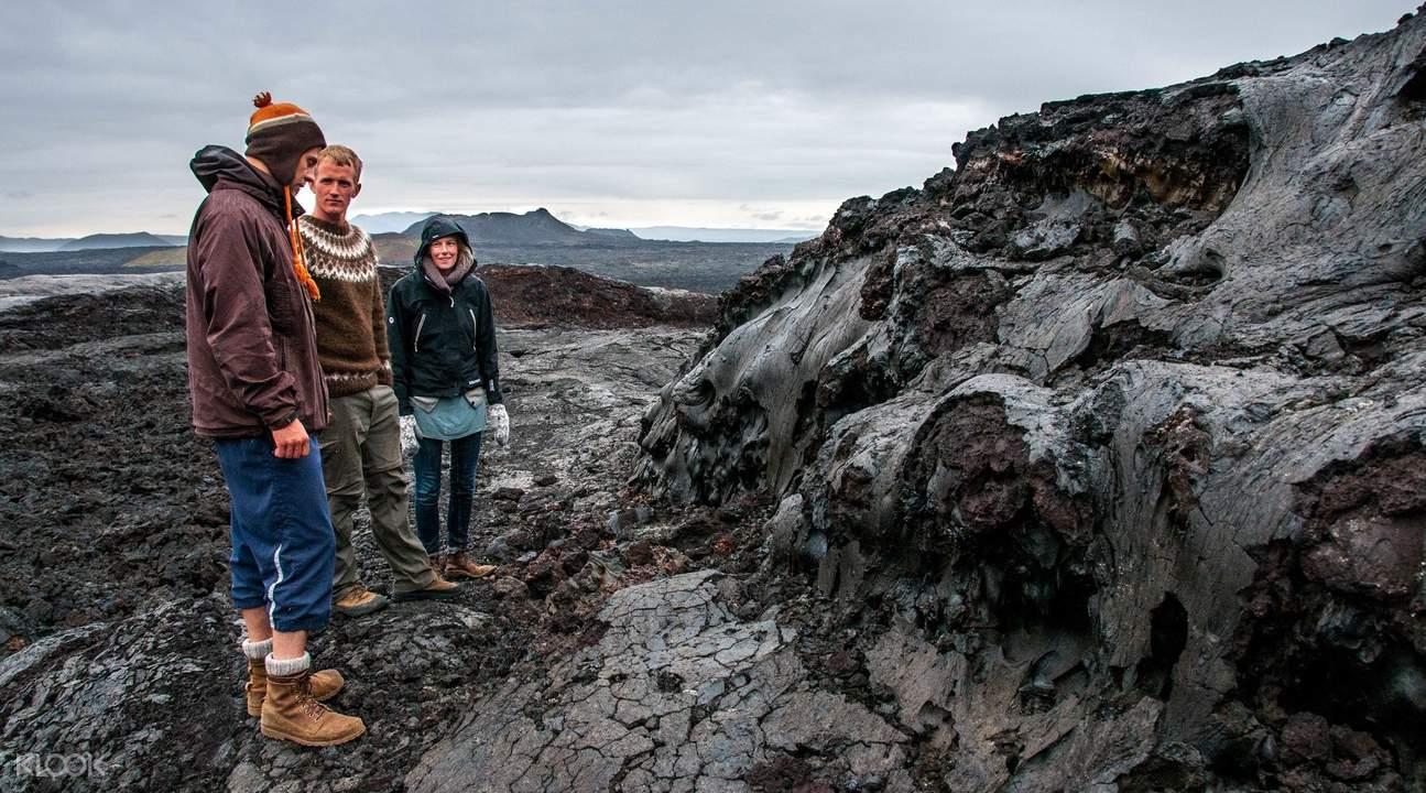 Krafla lava fields day tour