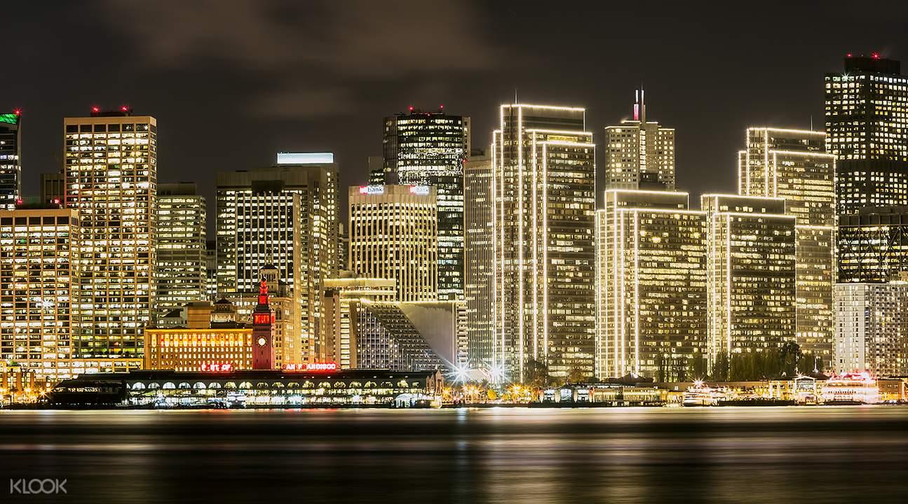 90分鐘舊金山夜間導覽