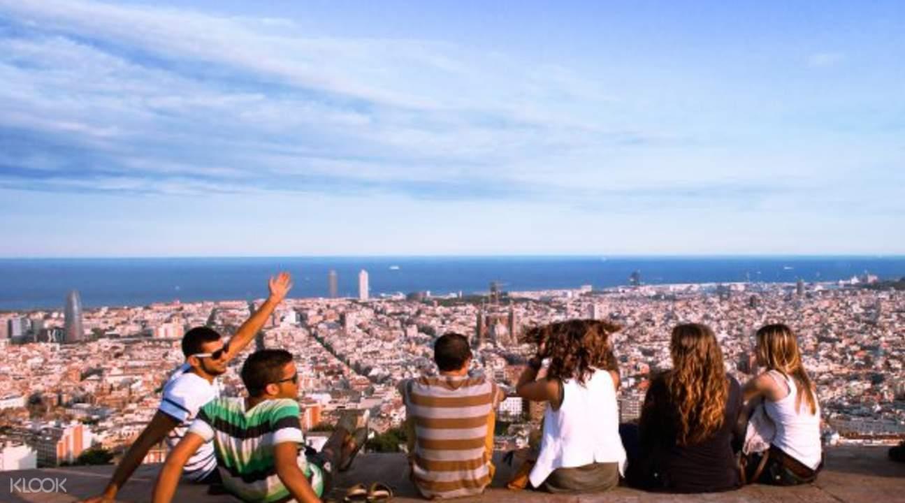 西班牙巴塞罗那城市观光