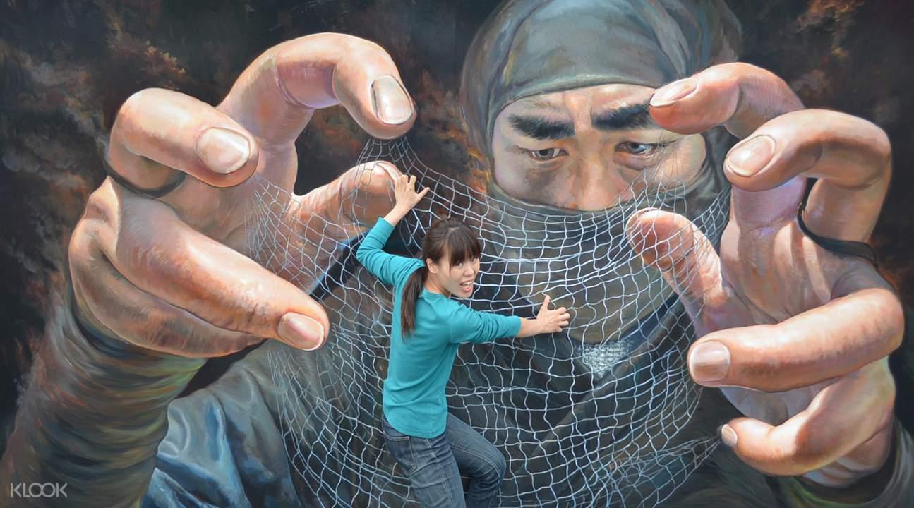 Tokyo Trick Art Exhibition ticket price