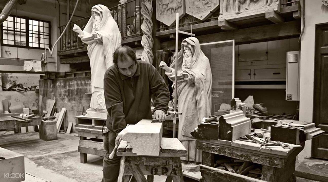 圣母百花大教堂修复工作室导览