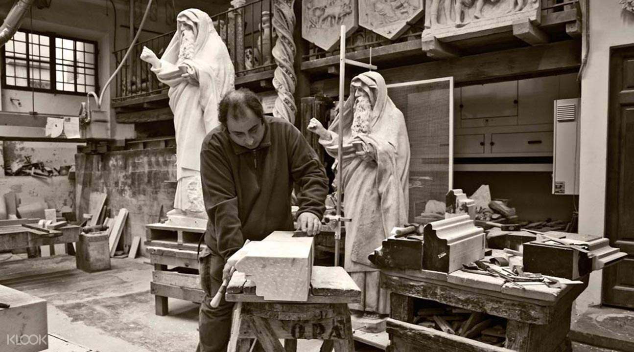 聖母百花大教堂修復工作室導覽