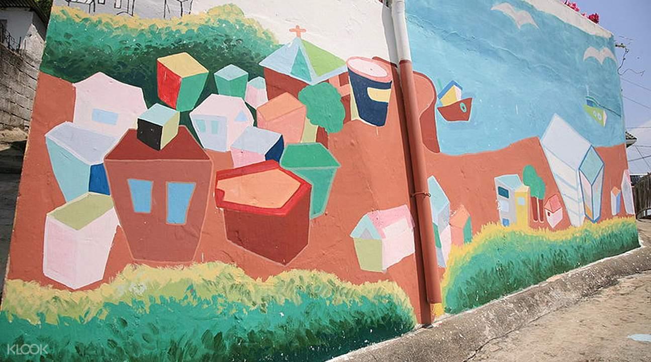 東皮郎壁畫村