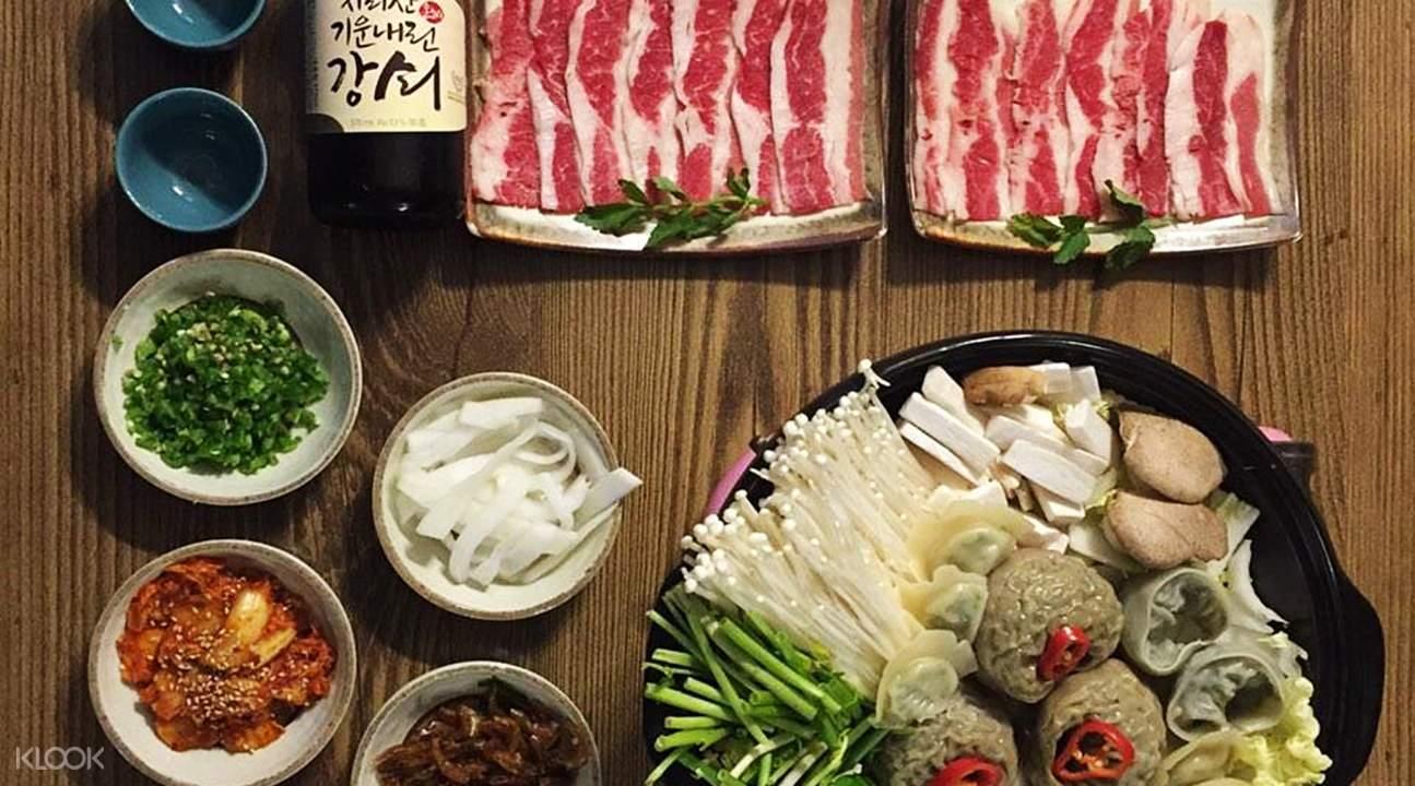 Jalppajin荞麦面(光化门店)柚子白切猪肉