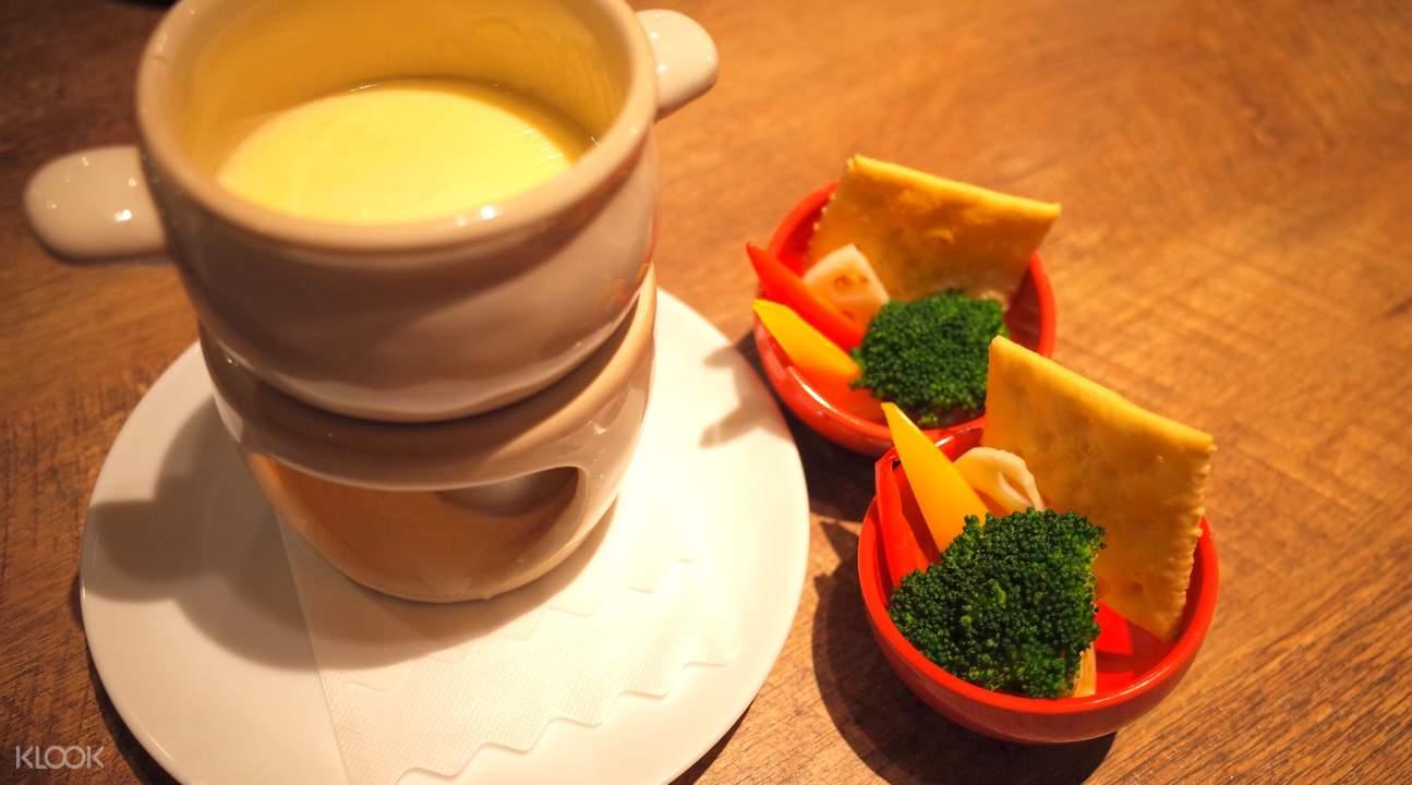cheese fondue merino akihabara shinjuku tokyo japan