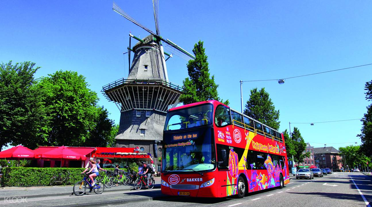 amsterdam hop on hop off sightseeing bus